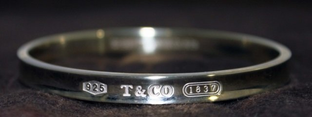 Tiffany & Co. 1837 Bangle Bracelet