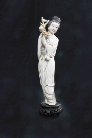 Ivory Beauty - 19th Century