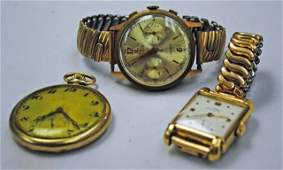 3 Gold and Gold Filled Watches