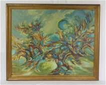 Hava Intrator Barak Oil Painting on Canvas Israel