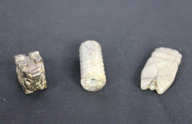 Three Hardstone Carvings
