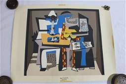 Pablo Picasso Unframed Lithograph - Three Musicians