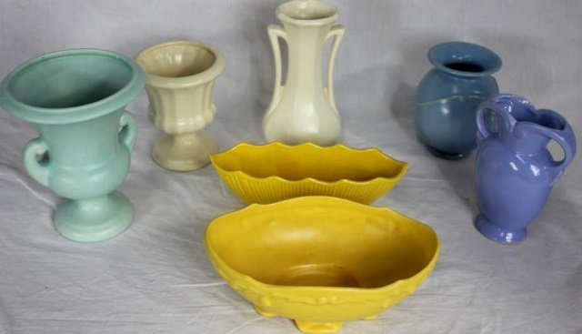 Large Collection of Mid Century Art Pottery