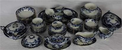 Art Nouveau Royal Pottery Staffordshire Service
