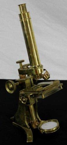 Charles Baker Antique Microscope Somerset House