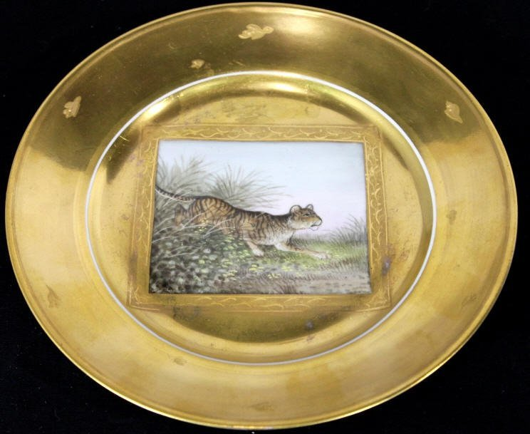 Antique Beehive Royal Vienna Plate