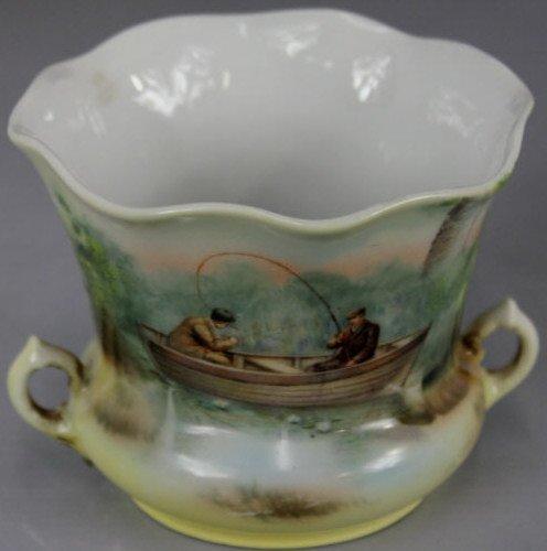 Hand Painted Royal Bayreuth Bavarian Handled Cup
