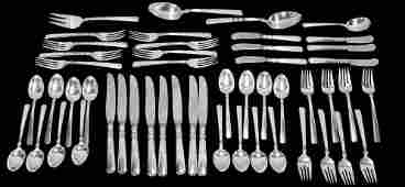 Antique Gorham Sterling Silver Service for Eight