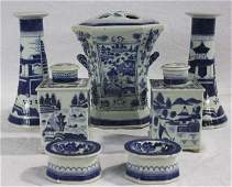 Collection of Chinese Canton Style Porcelain
