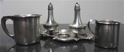 Lot of Assorted Antique Sterling & Silver