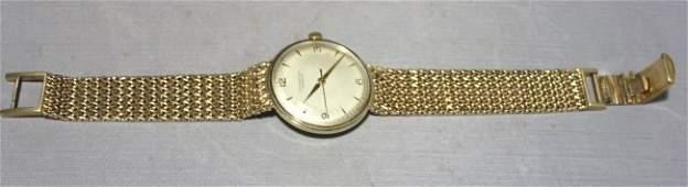 Tiffany  Co 14K Mens Wristwatch