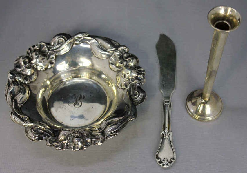 Assorted Group Of Sterling Silver