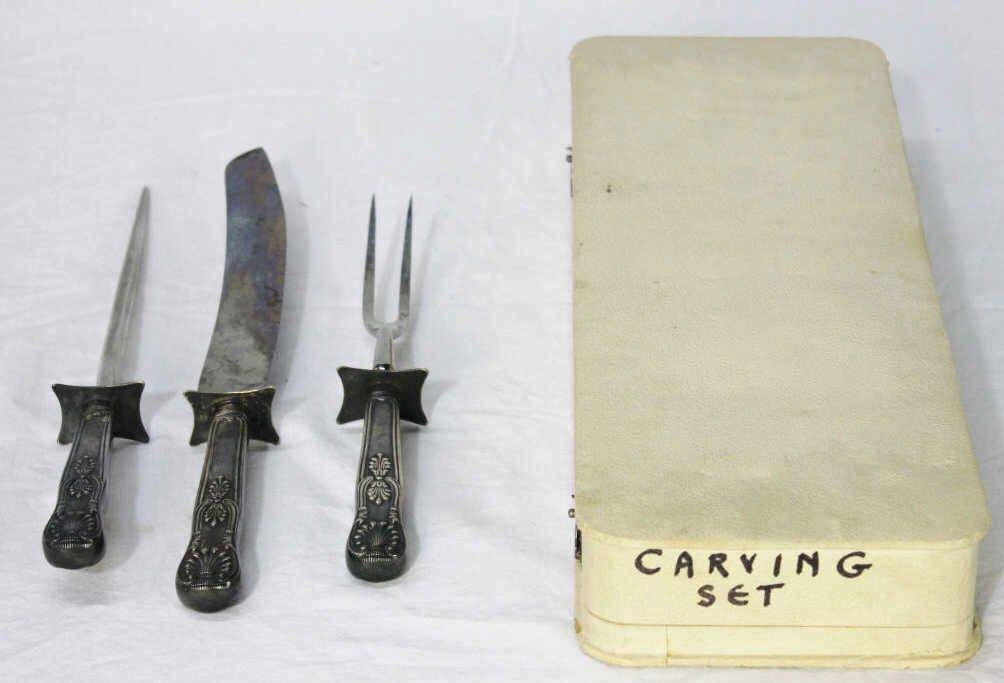 Gorham Silver Plate Carving Set