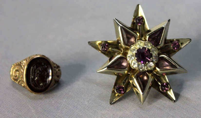 Two Pieces of Costume Jewelry