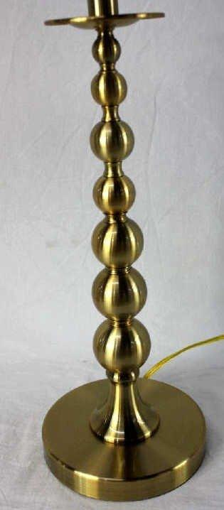 Pair of Ralph Lauren Brass Lamps - 2