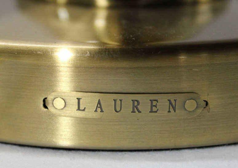 Pair of Ralph Lauren Brass Lamps - 4
