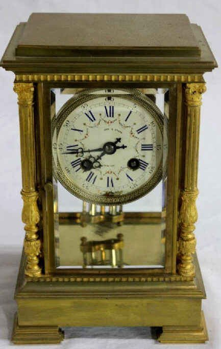 Crystal Regulator Clock Theodore Starr