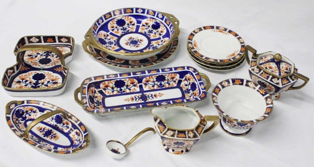 Group of Hand-Painted Nippon Dinnerware