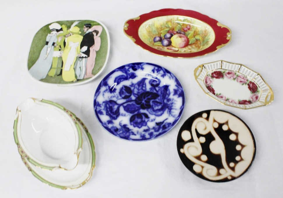 Assortment of Plates and Serving Dishes