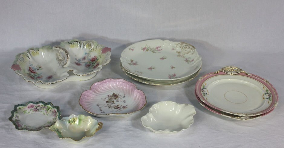 Assorted European Porcelain Serving Dishes