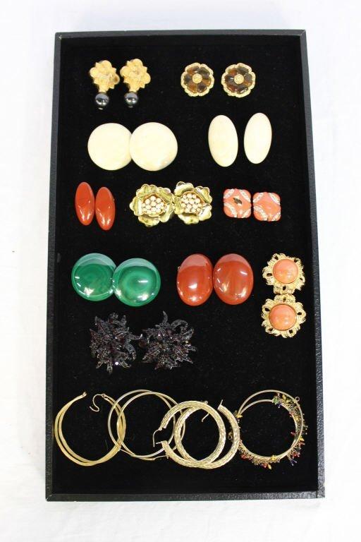 Assorted Group of Vintage Earrings