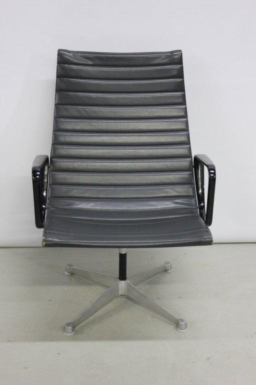 Five Herman Miller Swivel Arm Chairs Lot 286