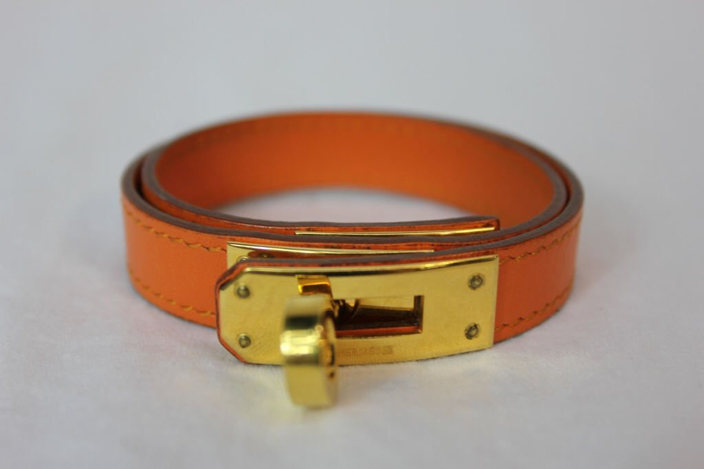 Hermes Kelly Double Tour Wrap  Bracelet - 3