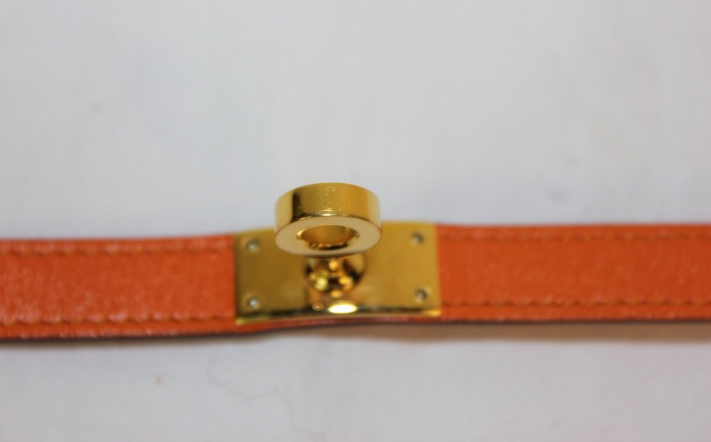 Hermes Kelly Double Tour Wrap  Bracelet - 5