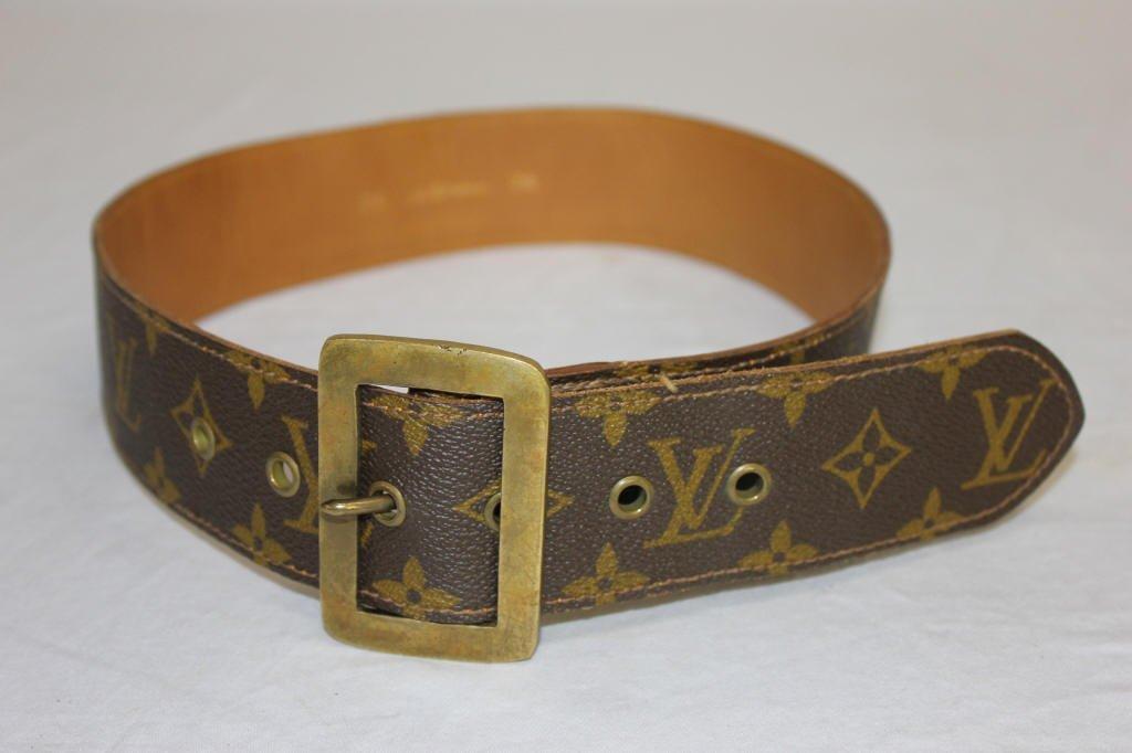 Vintage Louis Vuitton Belt from Saks Fifth Avenue
