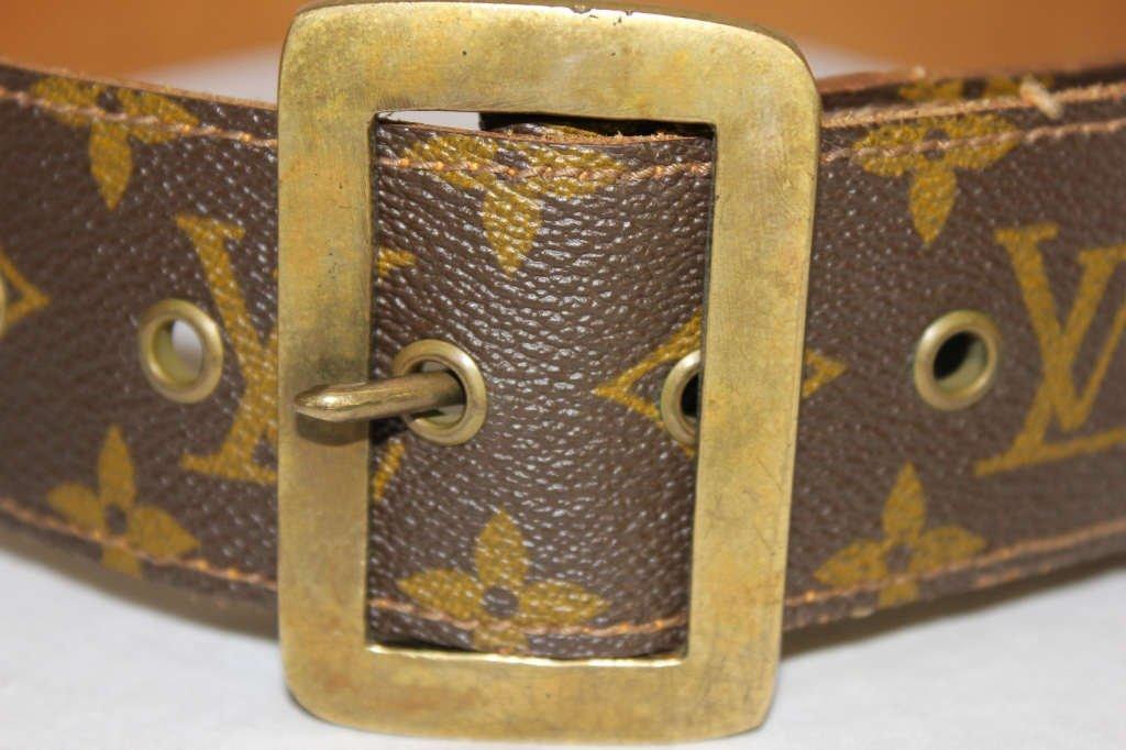 Vintage Louis Vuitton Belt from Saks Fifth Avenue - 2