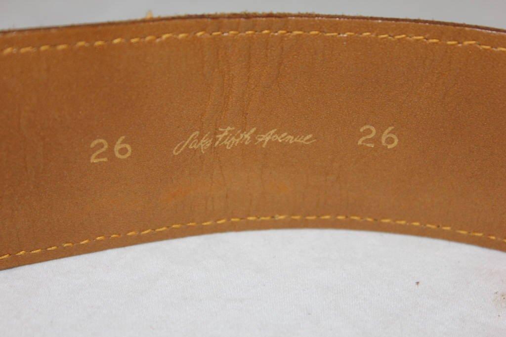 Vintage Louis Vuitton Belt from Saks Fifth Avenue - 3