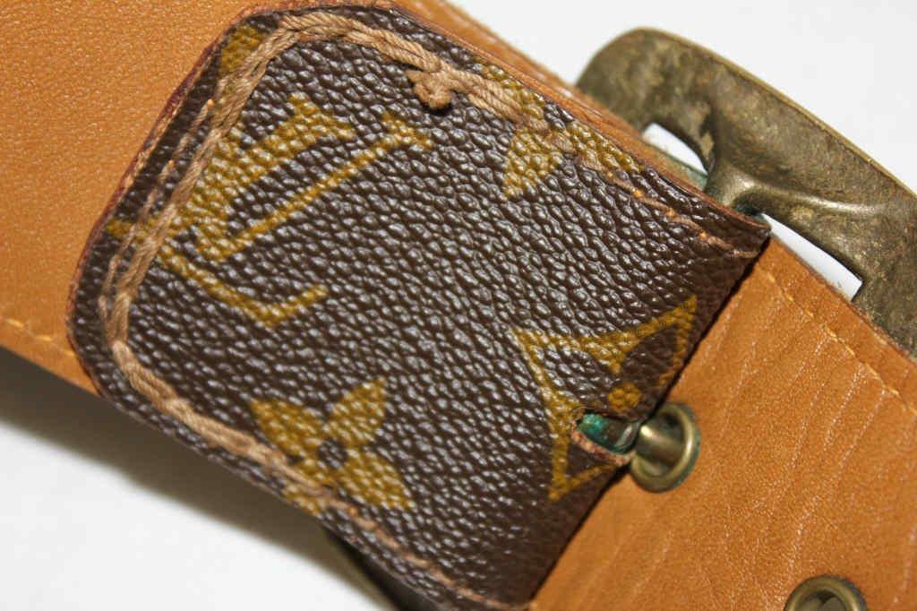 Vintage Louis Vuitton Belt from Saks Fifth Avenue - 4
