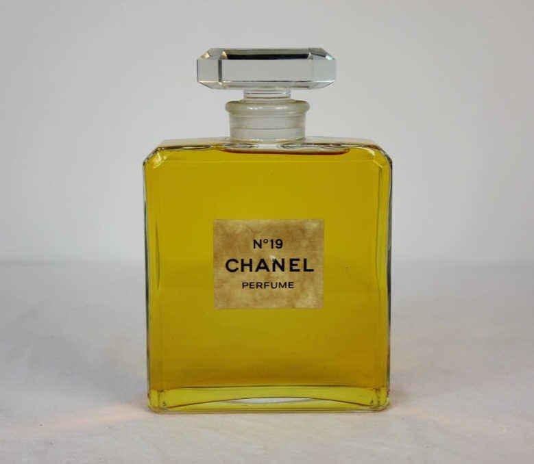 Chanel Large Vintage Glass Display Perfume Bottle