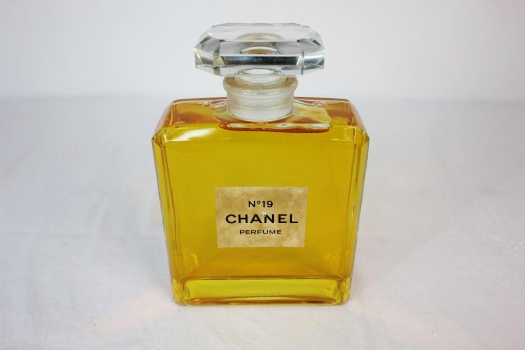 Chanel Large Vintage Glass Display Perfume Bottle - 4