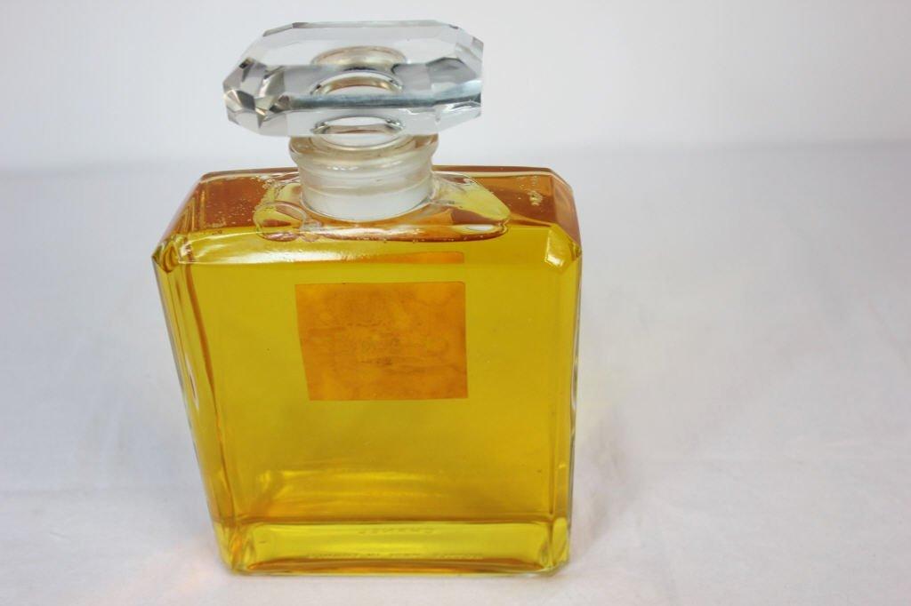 Chanel Large Vintage Glass Display Perfume Bottle - 5