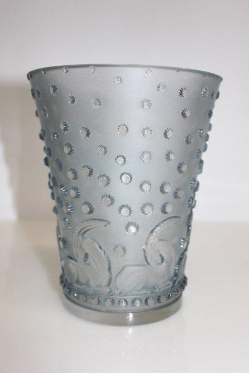 Rare Vase Signed R. Lalique France Circa 1930s