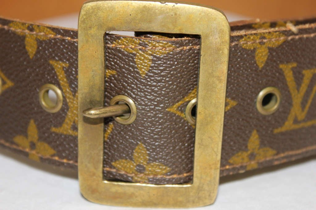 Vintage Louis Vuitton Belt from Saks Fifth Avenue - 2