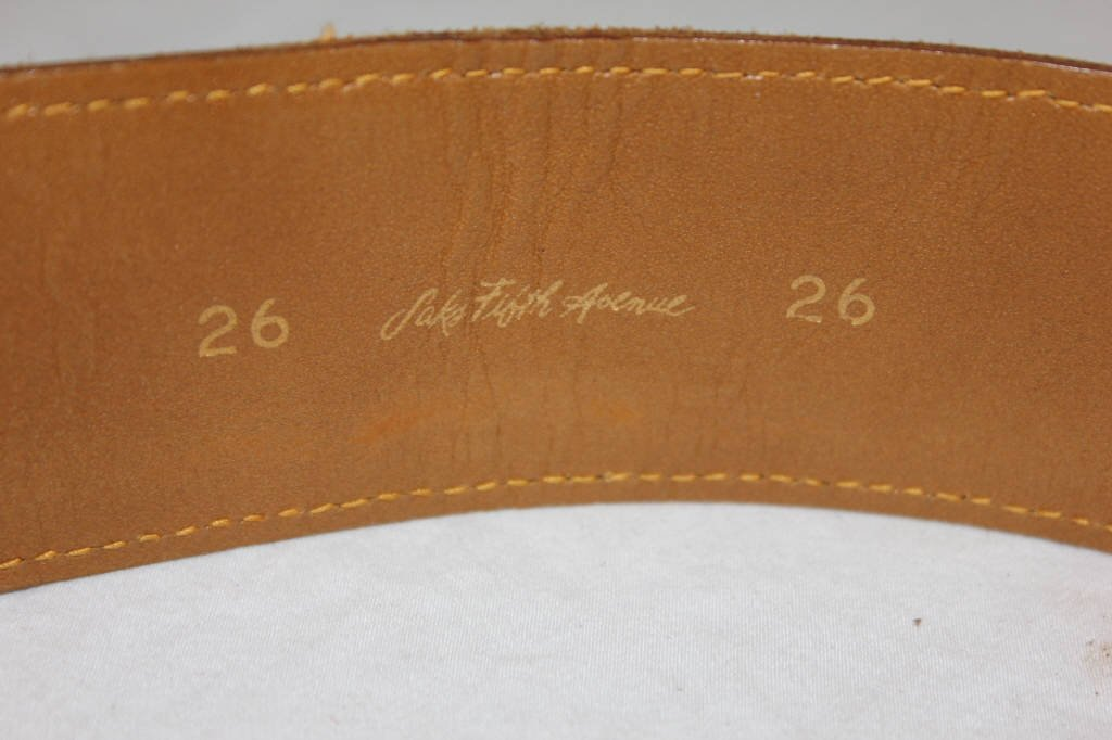 Vintage Louis Vuitton Belt from Saks Fifth Avenue - 3