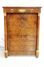 S. Jamar George IV 19th Century Secretaire