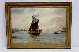 Oil Painting on Canvas Signed Gustave De Breanski