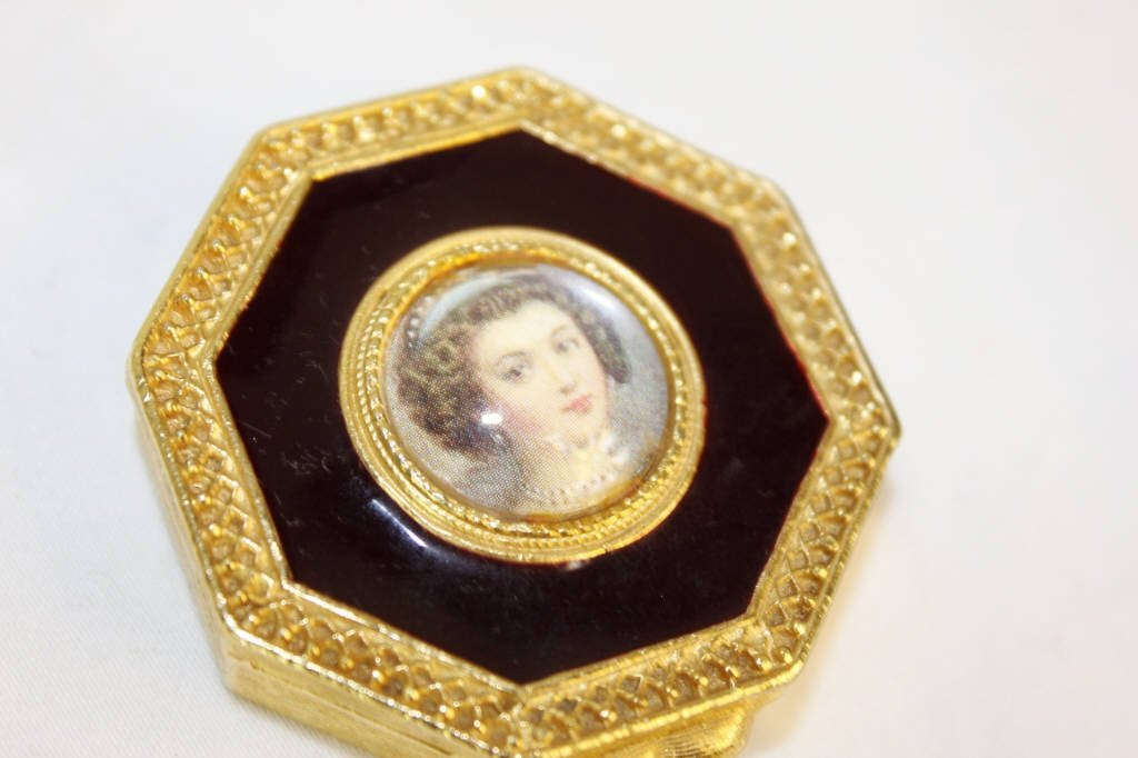 Solid Perfume Compacts & Perfume Miniature w Case - 6