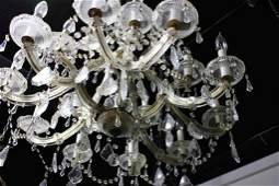 Large Dining Room Crystal Chandelier