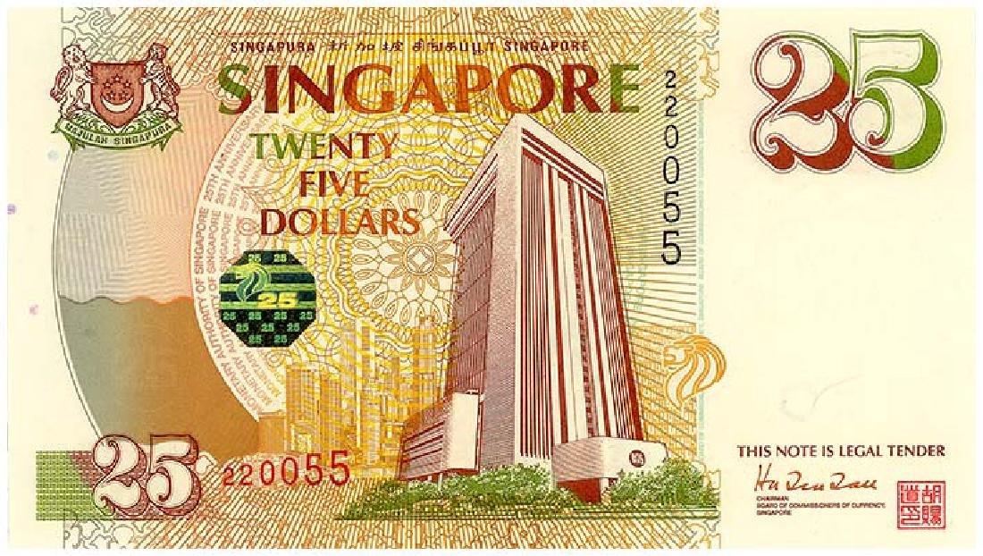 SINGAPORE $25 1996  no. 220055