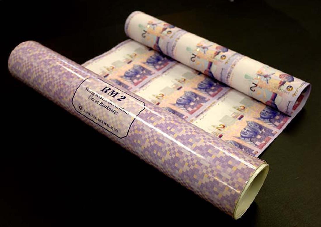 MALAYSIA  RM2 1996 30-in-1 uncut sheet  prefix ZA