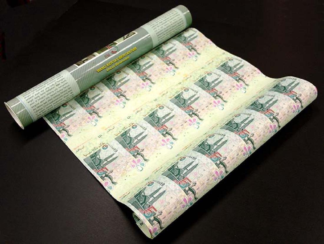 MALAYSIA RM5 1999 30-in-1 Uncut s/n AA0200489-AA0229489