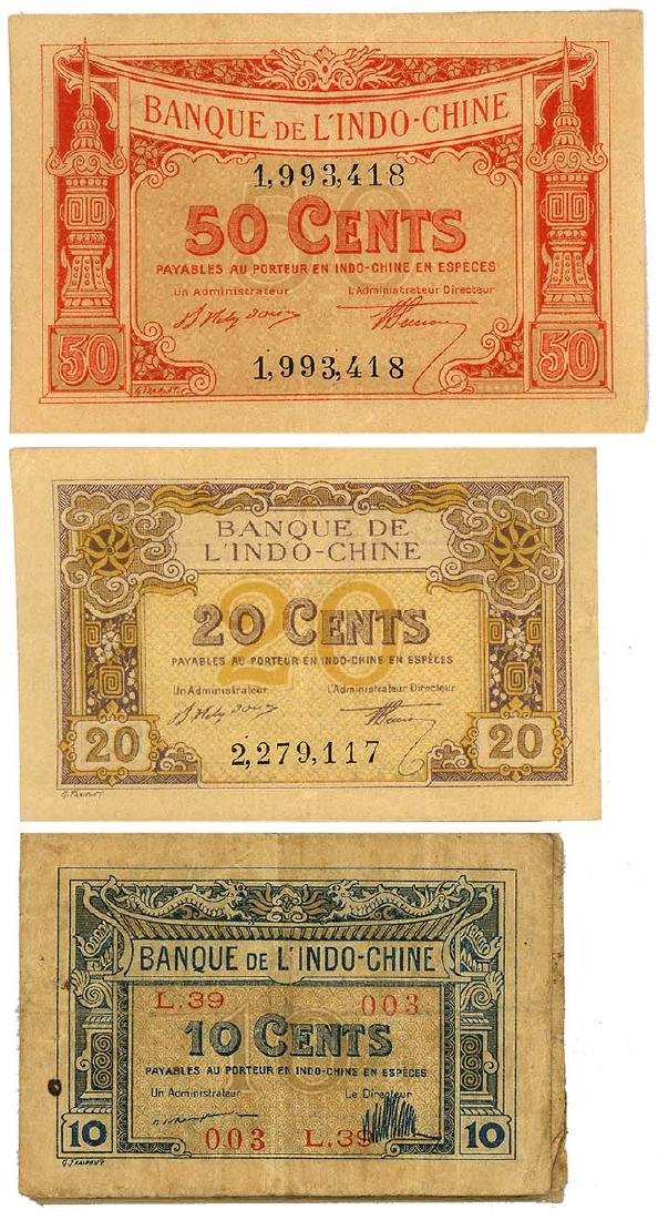 FRENCH INDO-CHINA  1919   (24pcs)