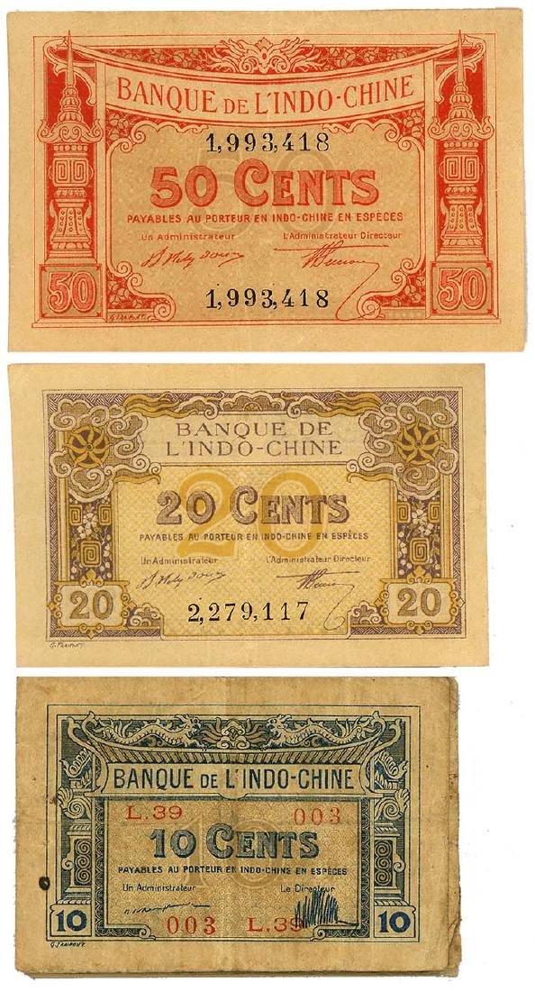 FRENCH INDO-CHINA  1919   (24pcs)