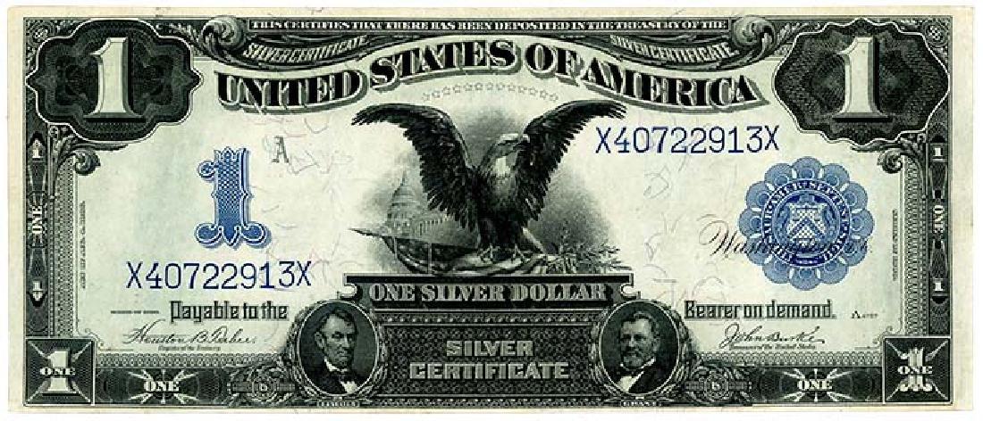 USA $1 1899 s/n. X40722913X