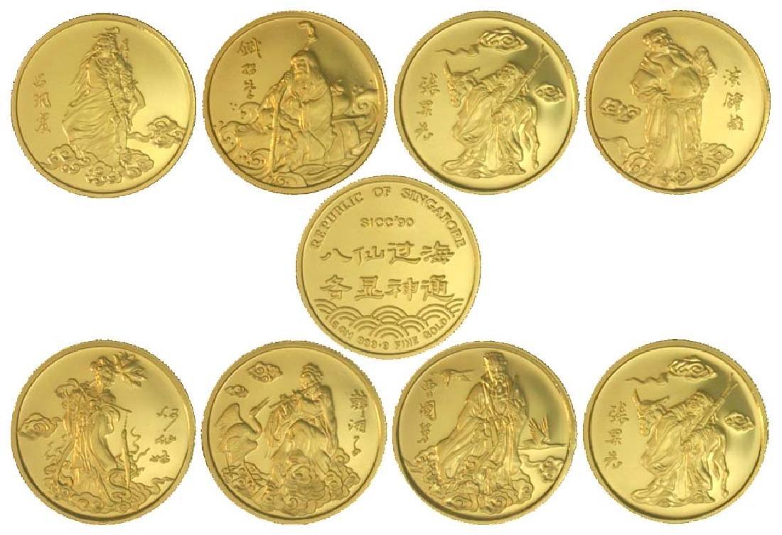 SINGAPORE Gold: SICC 1990.