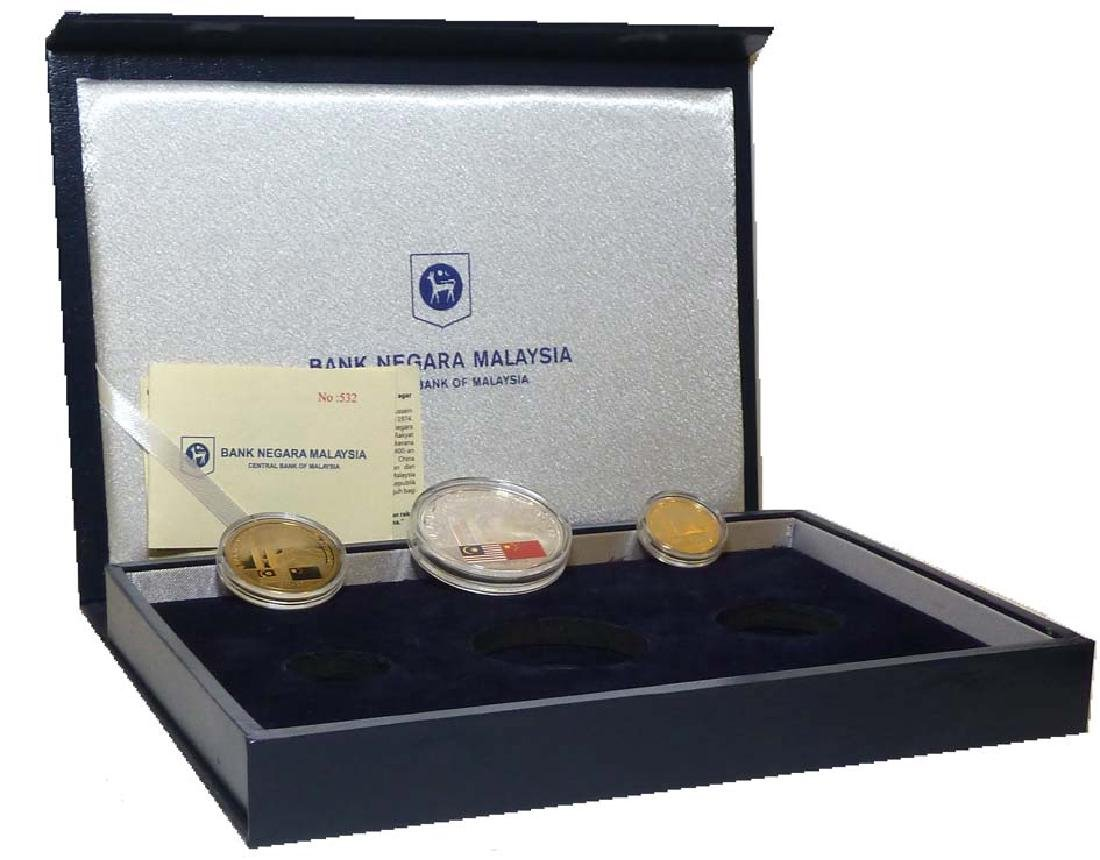 MALAYSIA Mint Set: Proof Set of 3 Coins